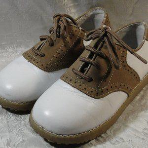 L'Amour Toddler Leather Dress Shoes Oxfords EUC